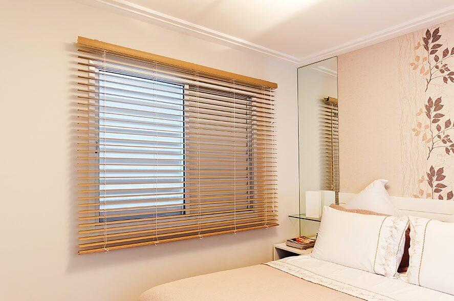 Persiana horizontal madeira pvc curve e persianas em alum nio - Laminas de persianas ...