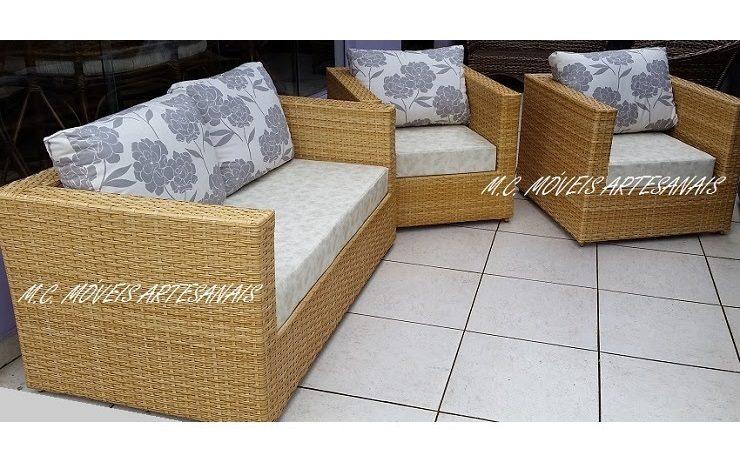 jogo-de-sofá-em-fibra-sintetica-varanda