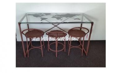 mesa-banqueta-junco-sintetico