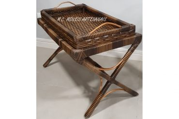 mesa-centro-bar-com bandeja-vime-sintetico